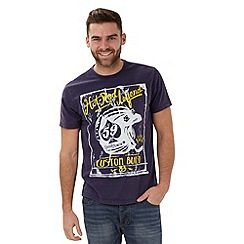 Joe Browns - Dark blue hot rod t-shirt