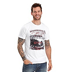 Joe Browns - White voyage cove t-shirt