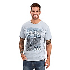 Joe Browns - Pale blue you can't buy happiness t-shirt