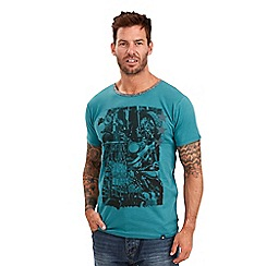 Joe Browns - Dark turquoise out of bounds t-shirt