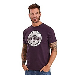 Joe Browns - Purple beat city t-shirt