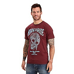 Joe Browns - Wine born to ride t-shirt