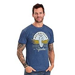 Joe Browns - Blue motor oil t-shirt