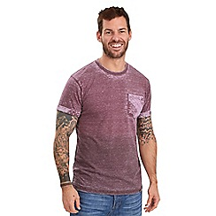 Joe Browns - Dark red bandana dip dye t-shirt