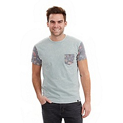 Joe Browns - Pale blue funky floral t-shirt