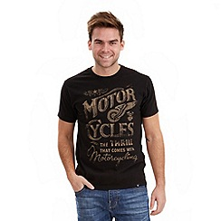 Joe Browns - Black on your bike t-shirt