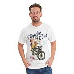 Joe Browns - Cream thunder road t-shirt