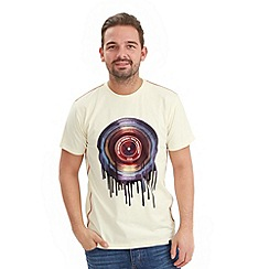 Joe Browns - Cream drippy vinyl t-shirt