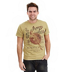 Joe Browns - Khaki army supplies t-shirt