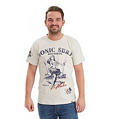 Joe Browns - Beige sonic surf t-shirt