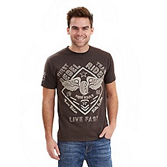Joe Browns - Dark grey dirty rider t-shirt