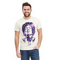 Joe Browns - Cream 'hendrix' t-shirt