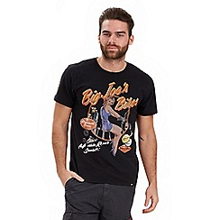 Joe Browns - Black garage pin-up t-shirt