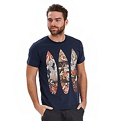 Joe Browns - Dark blue oriental surf t-shirt