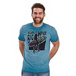 Joe Browns - Blue big wave t-shirt