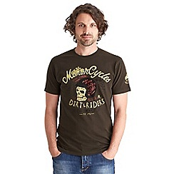 Joe Browns - Dark grey dirty riders t-shirt