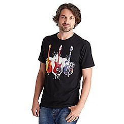 Joe Browns - Black explosive guitar t-shirt