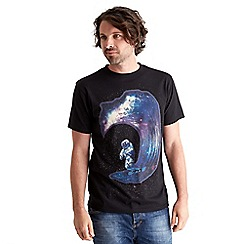 Joe Browns - Black space wave t-shirt