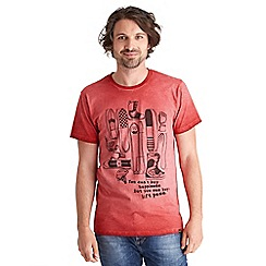 Joe Browns - Red hit the slopes t-shirt