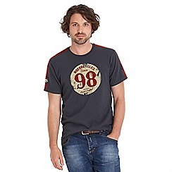 Joe Browns - Dark grey retro racer t-shirt