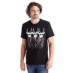 Joe Browns - Black stag t-shirt