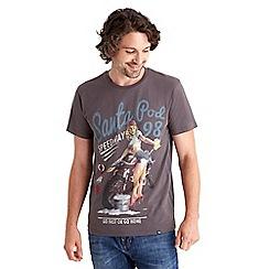 Joe Browns - Dark grey keep it clean t-shirt