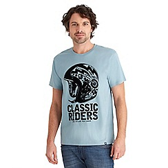 Joe Browns - Pale blue classic riders t-shirt