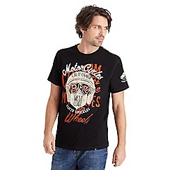Joe Browns - Black rusty knuckles t-shirt