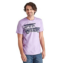 Joe Browns - Lilac sunrise surfer t-shirt