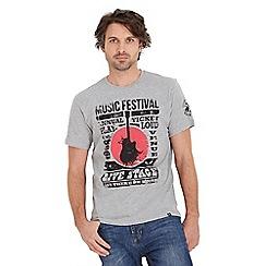 Joe Browns - Light grey music festival t-shirt