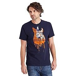 Joe Browns - Navy drippy guitar t-shirt