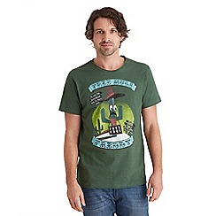 Joe Browns - Green free hugs freddy t-shirt