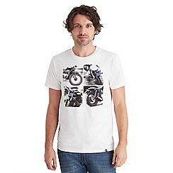 Joe Browns - Cream snap shots t-shirt