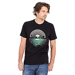 Joe Browns - Black vinyl reflection t-shirt