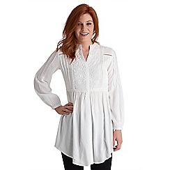 Joe Browns - White throw it on anywhere blouse