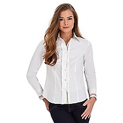 Joe Browns - White super smart shirt