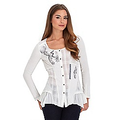 Joe Browns - White simply sumptuous blouse