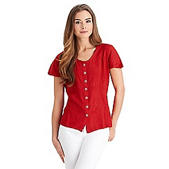 Joe Browns - Red effortlessly elegant blouse