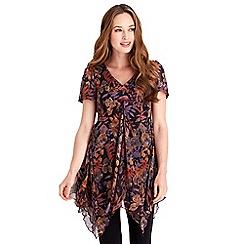 Joe Browns - Multi coloured perfect autumn blouse