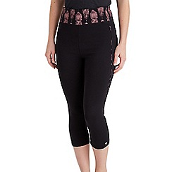 Joe Browns - Black fried frog cropped leggings