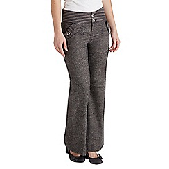Joe Browns - Dark grey terrific tweed trousers
