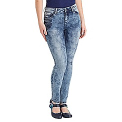 Joe Browns - Mid blue stitch pocket detail jeans