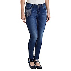 Joe Browns - Mid blue perfect patch pocket jeans
