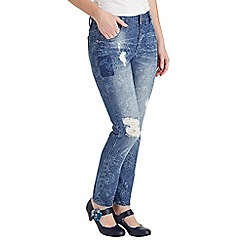 Joe Browns - Light blue perfect printed jeans