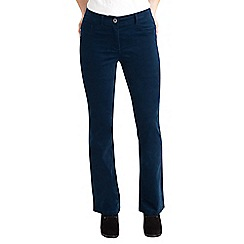 Joe Browns - Dark turquoise bootcut velvet trousers