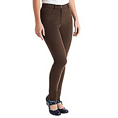 Joe Browns - Chocolate perfect jersey trousers