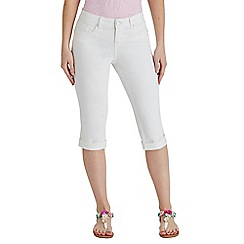 Joe Browns - Off white must have capri trousers