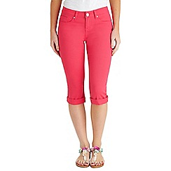 Joe Browns - Bright pink must have capri trousers