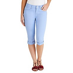 Joe Browns - Pale blue must have capri trousers
