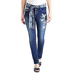 Joe Browns - Mid blue free and funky jeans